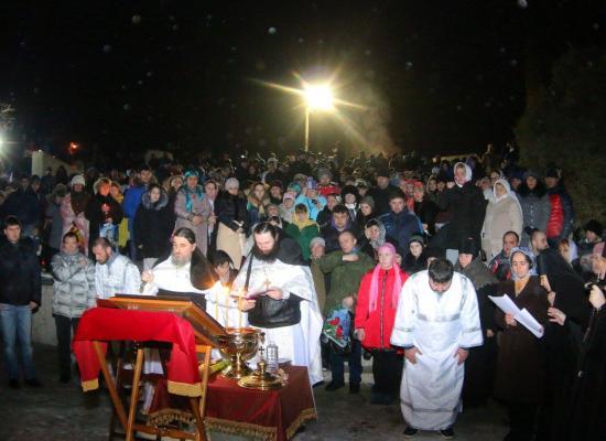 В Аланском Богоявленском женском монастыре отметили престольный праздник