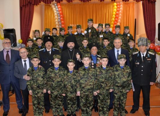Епископ Леонид принял участие в Дне казачьей культуры, состоявшемся в станице Архонской